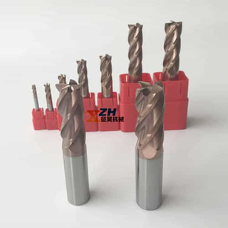 2/3/4 Flutes Solid Carbide End Mill