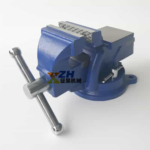 Heavy Duty Bench Vise With Swivel And Anvil